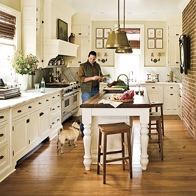 Next Up Is The Elegantly Understated Southern Living Farmhouse
