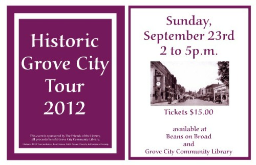 Grove City Historic Tour 2012