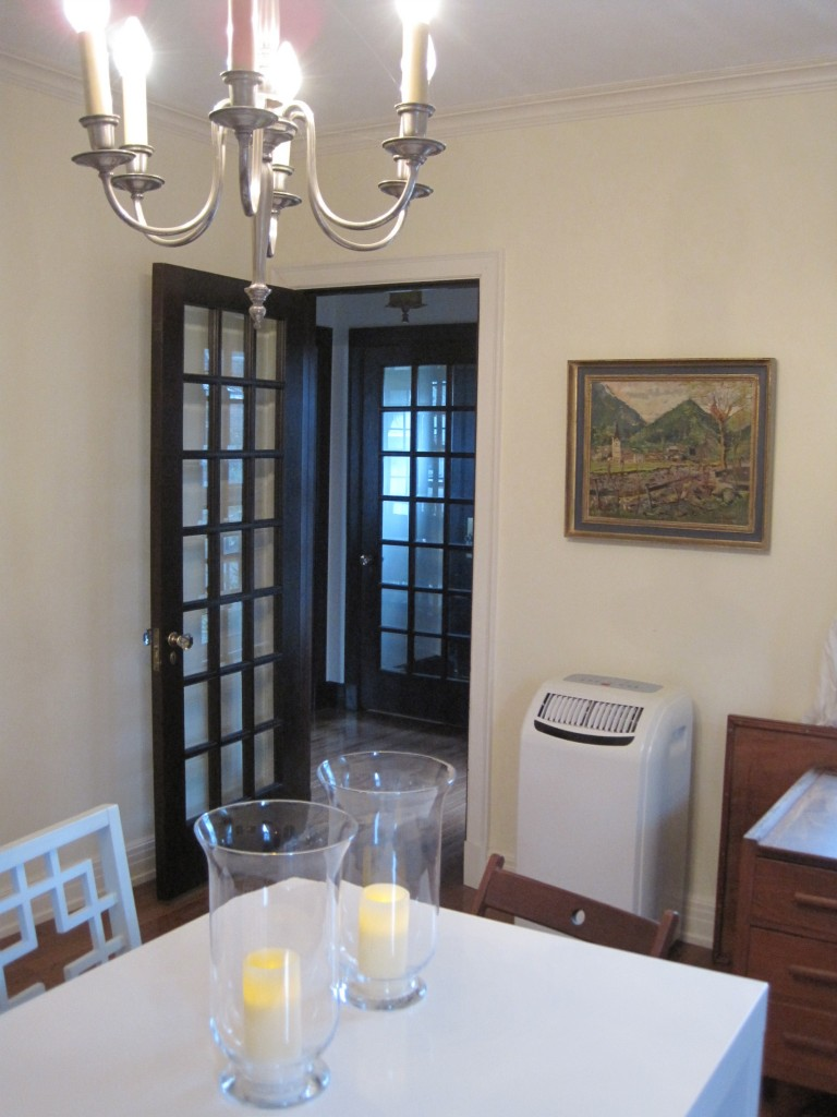 """dining room to foyer: """"before"""""""