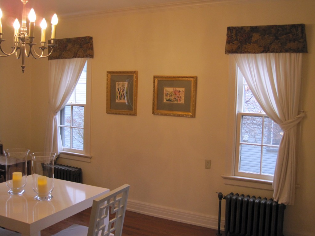 "dining room windows: ""before"""
