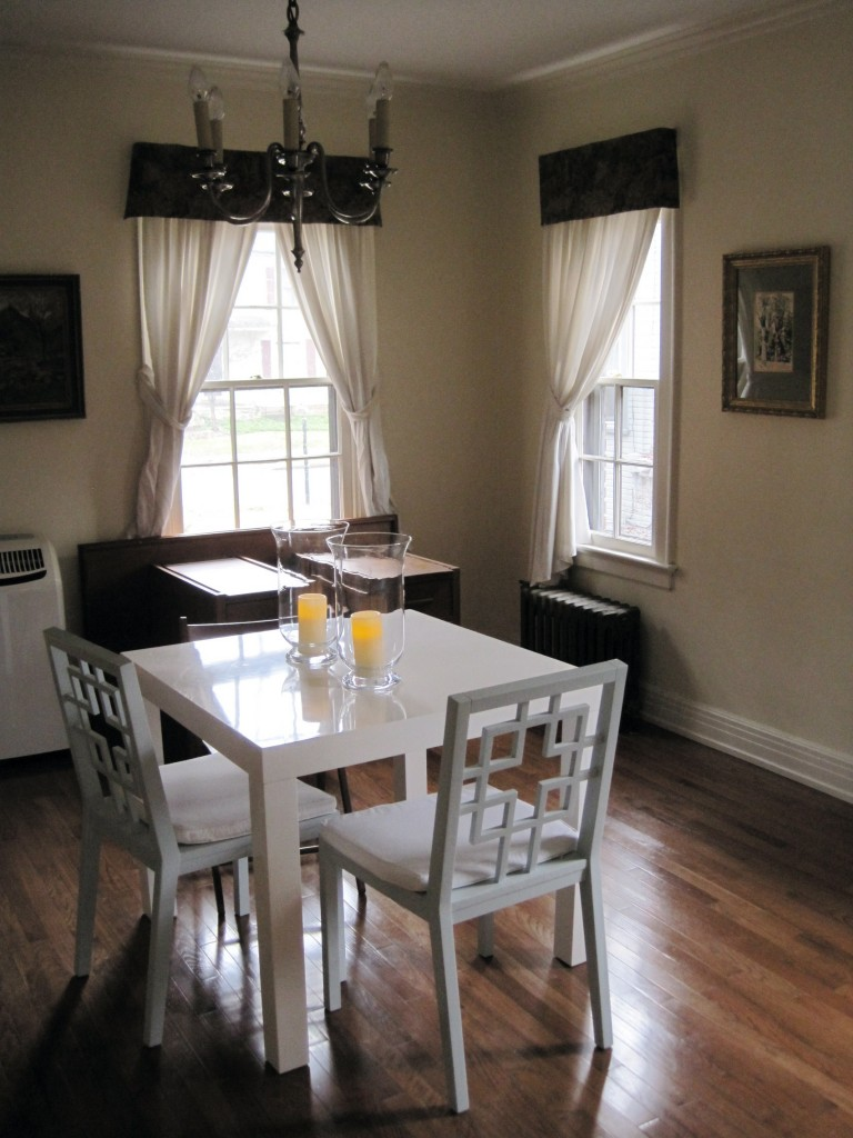 """dining room: """"before"""""""